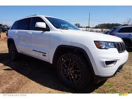 cherokee jeep 2016 white 2016 bright white jeep grand cherokee 75th anniversary edition