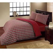 Flannelette Single Duvet Cover Highland 100 Cotton Flannelette Duvet Cover Set