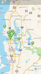 Map Of Seattle Airport by New App From Cascade Guides You On Popular Area Bike Rides