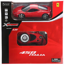toy ferrari model cars x street ferrari 458 radio remote control car model toy gift 1 32