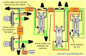 wiring a 4 way light switch diagram wiring diagram simonand
