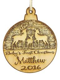 baby u0027s first christmas personalized christmas ornament new born