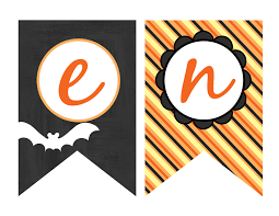Halloween Banners by My Belle Michelle Free Halloween Printables