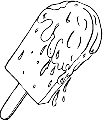 ice cream coloring pages free morning black and white ice cream