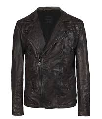 mens leather biker jacket fashionable biker jacket