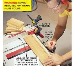 can you use a table saw as a jointer tips to use a table saw safely
