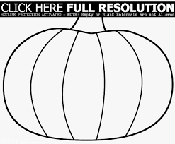 blank pumpkin coloring pages virtren com