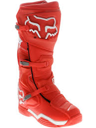fox motocross boots fox red comp 8 mx boot fox freestylextreme moto gear
