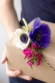 flower gift diy fresh flower gift tags fresh flowers flower and wraps