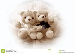 wedding teddy bears royalty free stock photo image 10696975