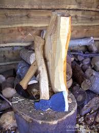 woodsman crafts kuksa and bowl carving practice