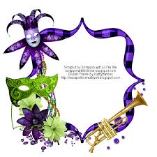 mardi gras picture frames escape from reality mardi gras ftu cluster cluster frames