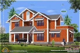 house made laterite stone kerala home design floor plans home
