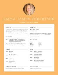 Actor Resume Examples by Stage And Film Actress Resume Templates By Canva