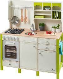 spielküche holz musterkind spielküche aus holz salvia creme grün kaufen