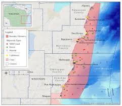 Wisconsin Public Land Map by Wisconsin Lake Michigan National Marine Sanctuaries