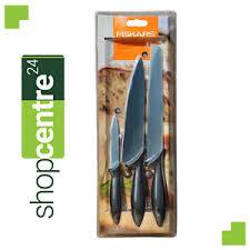 ebay kitchen knives fiskars starter set of 3 kitchen knives 1004928 837071 ebay