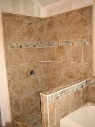 bathroom tile ideas for shower walls shower pony wall tub surround 9 2008 pony wall tub surround and