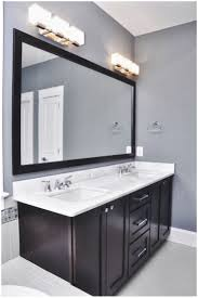 interior bathroom vanity light fixtures bathroom grey wall and
