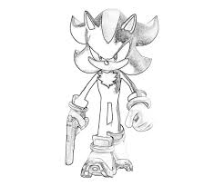 sonic and shadow coloring pages sonic generations shadow the hedgehog pistol surfing