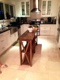 Skinny Kitchen Table by Kitchen Island Narrow Kitchen Island Table Small Kitchen Island