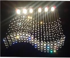 Glass Crystal Chandelier Drops 50 Pcs Lot 38mm Smooth Crystal Raindrop Chandelier Parts Crystal