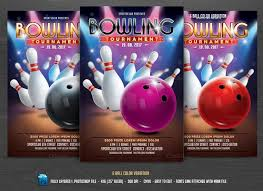 15 bowling invitation template psd pdf and vector eps format
