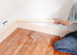 Laminate Flooring Trim A Trim Story Repairing Old Matching New How We Install