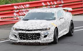 2018 chevrolet camaro z 28 spy photos u2013 news u2013 car and driver