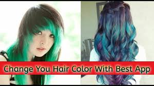 virtual hair colour changer hair color changer best app how to change hair color with best