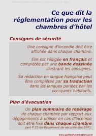 reglementation chambre d hotes hotel affichage obligatoire dans les chambres source
