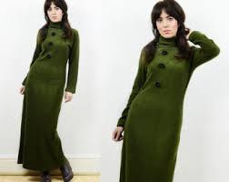 maxi jumper dress etsy