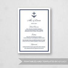 menu template for mac 17 best wedding menu templates images on mac adobe