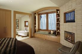 Bookshelf Seat Craftsman Master Bedroom With Built In Bookshelf By Angela