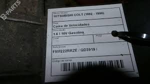 manual gearbox mitsubishi colt iv ca a 1 6 glxi 16v ca4a 10416