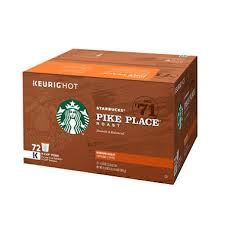 starbucks pike place k cups 72 ct sam s club