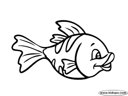 free printable fish coloring pages for kids clip art library