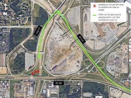 Dallas Ft Worth Airport Map by Irving Traffic Switches U0026 Closures Begin For Sh 183 Project Cbs