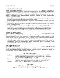 Example Resume For A Job by It Consultant Resume Berathen Com