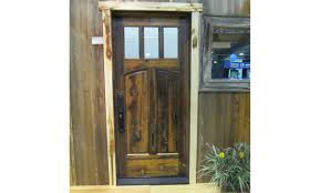 solid wood doors manufactured by rbm lumber using montana species wood