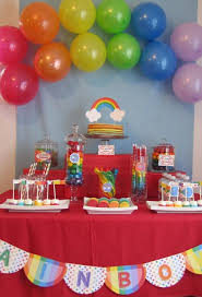 Rainbow Party Decorations 33 Best Rainbow Party Cheap And Easy Ideas Images On Pinterest