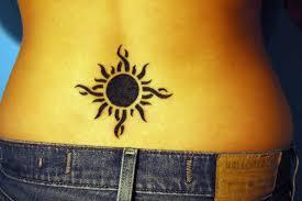 tattoos sun designs visual attractiveness