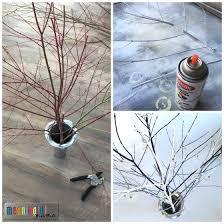 diy swarovski snowflake display tree