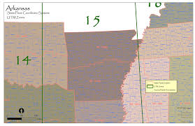 Map Coordinate Systems Arkansas State Plane And Utm U2014 Urban Forest Strike Teams