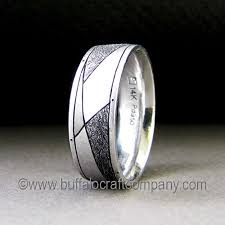 palladium sterling silver men s wedding bands buffalo craft company llc