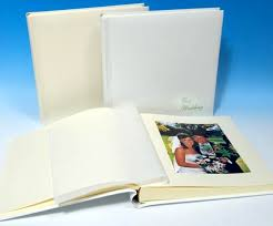 leather wedding albums luxury leather wedding album in ivory white