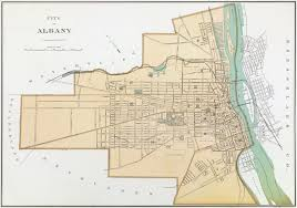 Street Map Of Nyc That Time Not Even That Long Ago That Albany Annexed A Chunk
