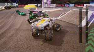 monster trucks grave digger crashes monster jam crush it game ps4 playstation