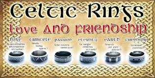 celtic rings meaning celtic and friendship ring set mulligans ireland