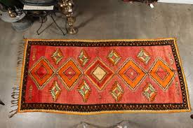 Outdoor Rug Runner by Vintage Moroccan Tribal Rug Runner Matisse Style For Sale At 1stdibs